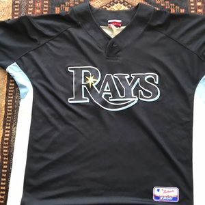 2008 Tampa Bay Rays Batting Jersey Authentic.